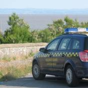 A search is under way after two men were swept out to sea at Weston-super-Mare