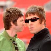 Noel and Liam Gallagher, of Oasis, whose Wembley gig had sound problems