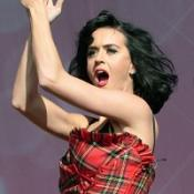Katy Perry performs at T in the Park music festival