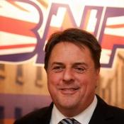 BNP Party leader Nick Griffin has rebuked claims that he is a fascist.