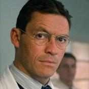 Dominic West pretends to be a doctor on the Eminem album