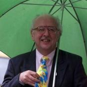 TV weatherman Michael Fish did a forecast for the festival