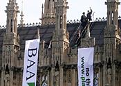 parliament protest