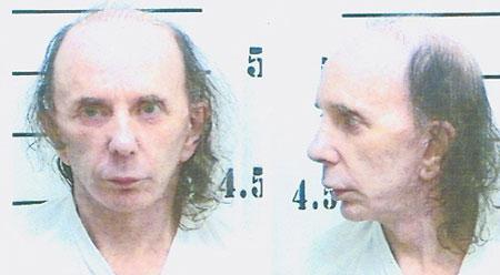 Alone: Jailed music legend Phil Spector
