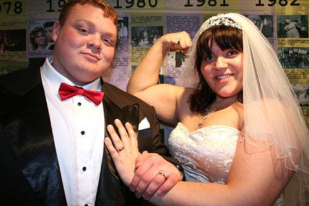 strong wedding