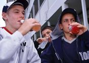 Alchohol drunk binge