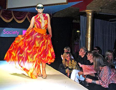 Wags fashion show