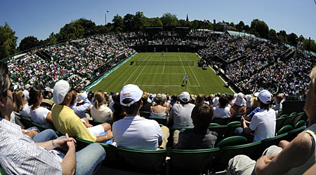 Spectators have continued to flock to Wimbledon despite the scare