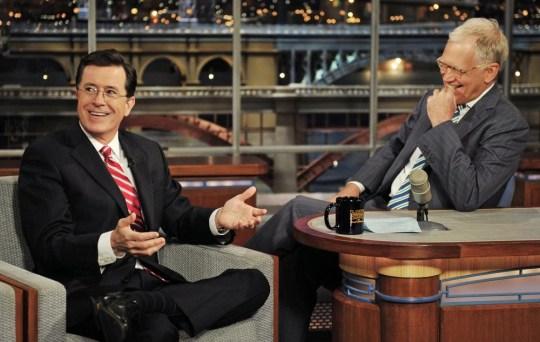 Stephen Colbert, David Letterman, Late Show