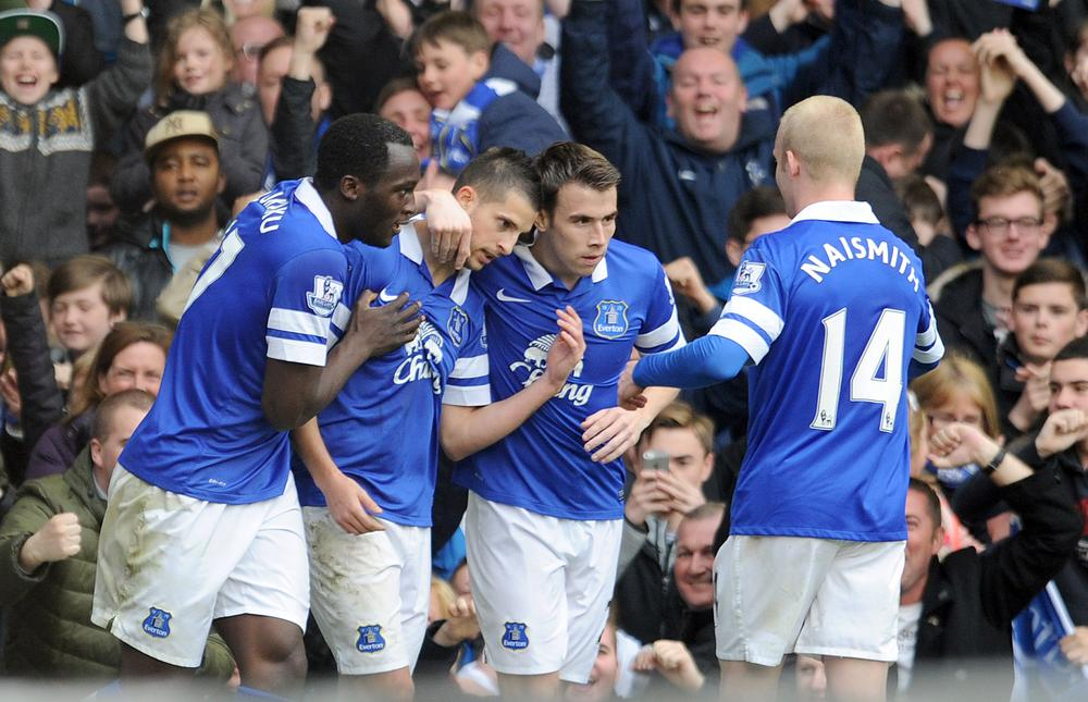 Can Everton keep their Champions League hopes alive without Sylvian Distin and Kevin Mirallas?