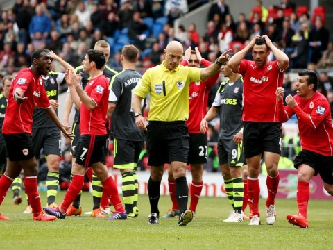 Cardiff City pay the penalty for Howard Webb's shoddy refereeing