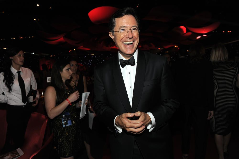 Stephen Colbert confirmed to replace David Letterman: 'I have big shoes to fill'