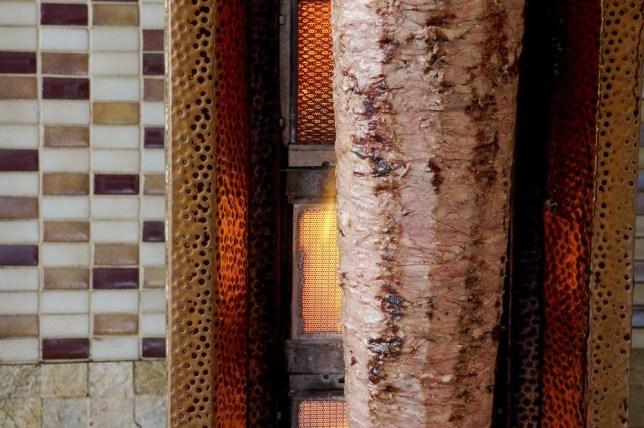 Delicious Traditional Turkish Doner Kebab Cooking in the Fire tolgaildun/tolgaildun