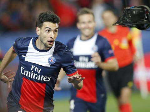 Liverpool target Javier Pastore happy to stay with Paris Saint-Germain