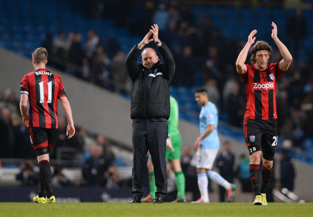 Three talking points from West Brom's loss at Manchester City
