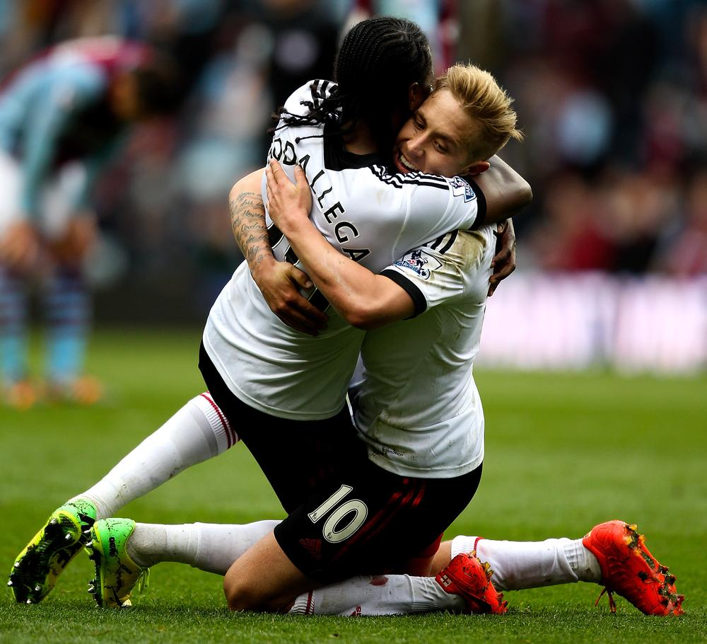 Game on! Fulham give fans hope of a miracle