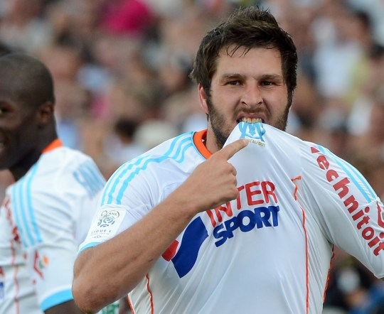 Andre-Pierre Gignac was targeted by Burger King (Picture: Getty)