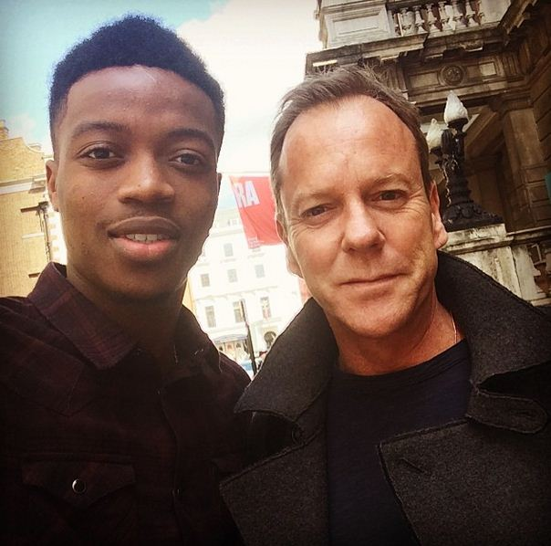 Chelsea youngster Nathaniel Chalobah bags Jack Bauer selfie