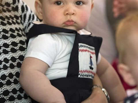 This is what Prince George is really thinking…