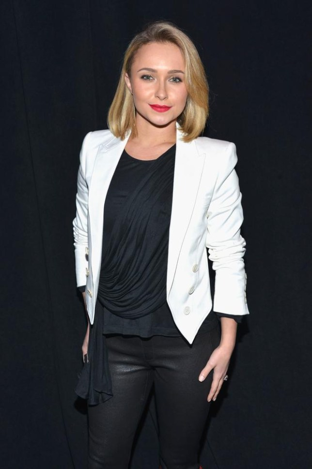 Hayden Panettiere found out about Heroes Reborn by text (Picture: Getty Images)