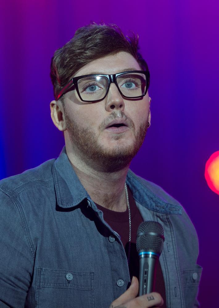 LONDON, ENGLAND - JANUARY 15: James Arthur performs live on stage at the Hammersmith Apollo on January 15, 2014 in London, England. Samir Hussein/Getty Images