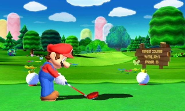 Mario Golf: World Tour (3DS) – almost a hole in one