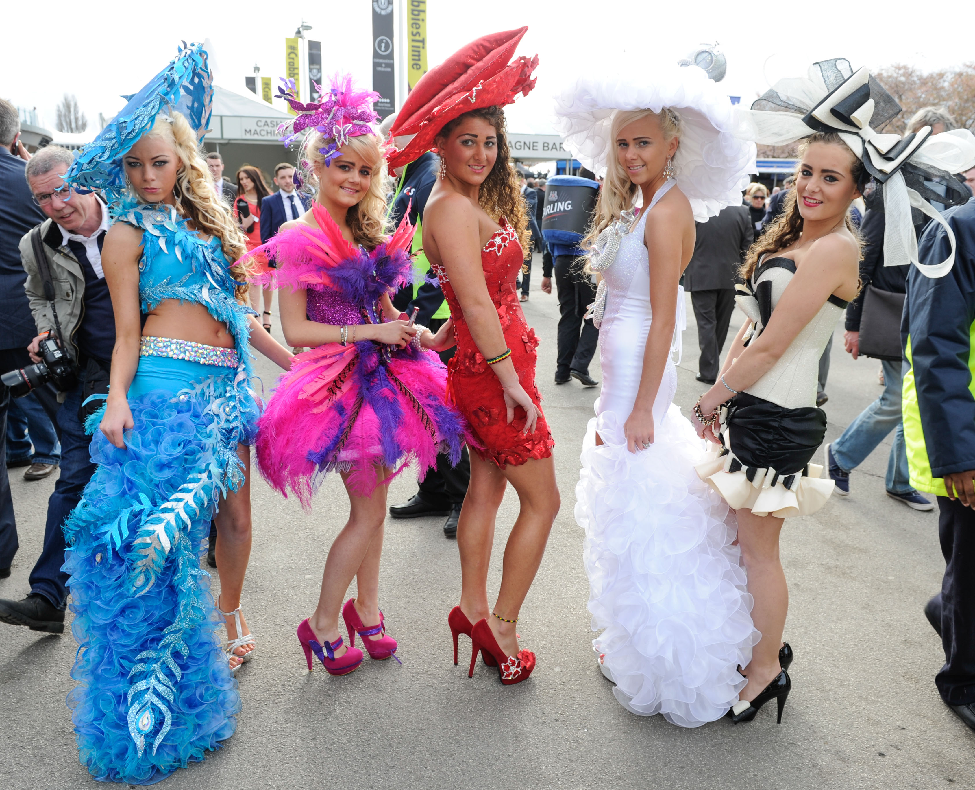 And they are off – Ladies Day at Aintree Grand National
