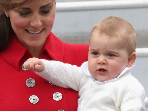Royal Tour 2014: Gorgeous Prince George makes royal debut with proud mother and father