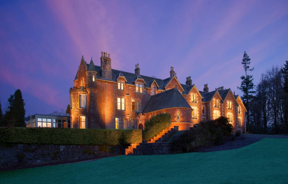 We check out Andy Murray's new Cromlix hotel in Scotland