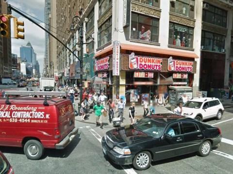Rats filmed feasting in Manhattan Dunkin' Donuts store