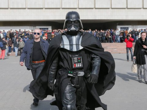 Darth Vader may not get to be president of Ukraine after all