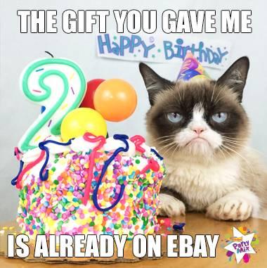 Grumpy Cat Credit: The Official Grumpy Cat Taken form the facebook page: https://www.facebook.com/TheOfficialGrumpyCat