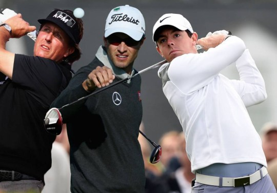 AUGUSTA, GA - APRIL 08:  Rory McIlroy of Northern Ireland watches a shot during a practice round prior to the start of the 2014 Masters Tournament at Augusta National Golf Club on April 8, 2014 in Augusta, Georgia.  (Photo by Harry How/Getty Images)