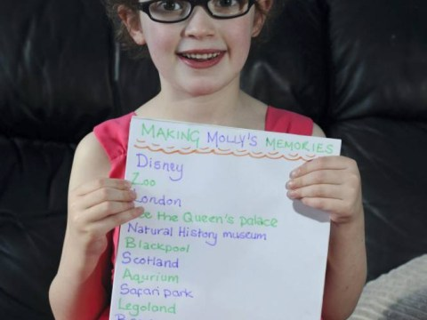 Girl, 6, with rare genetic condition hopes to complete heart-warming 'bucket list' before she goes blind