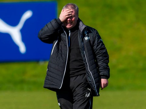 Rangers boss Ally McCoist admits social media concern after Steve Simonsen abuse