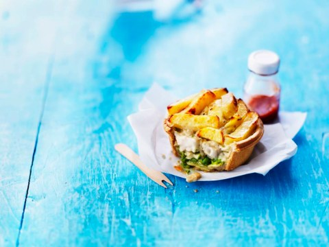 It's not just any fish and chip pie, it's a Marks & Spencer fish and chip pie
