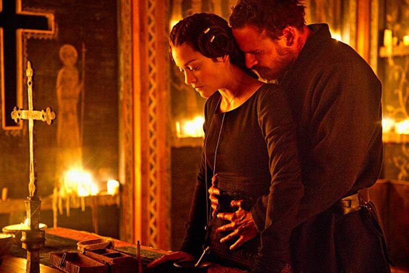 Michael Fassbender is the sensual, heroic man of your dreams in first Macbeth pictures
