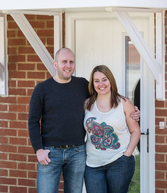 Emma and Richard had help to buy their new home (Picture: Supplied)