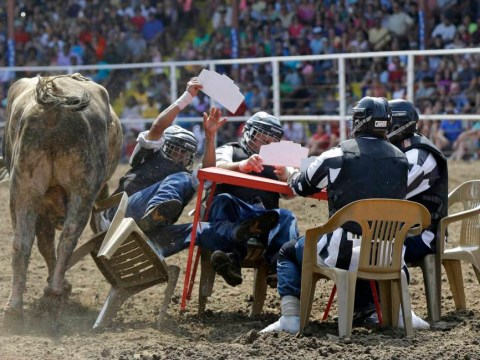 Jailbait in the state pen: Inmates take on the raging bulls in the prison rodeo
