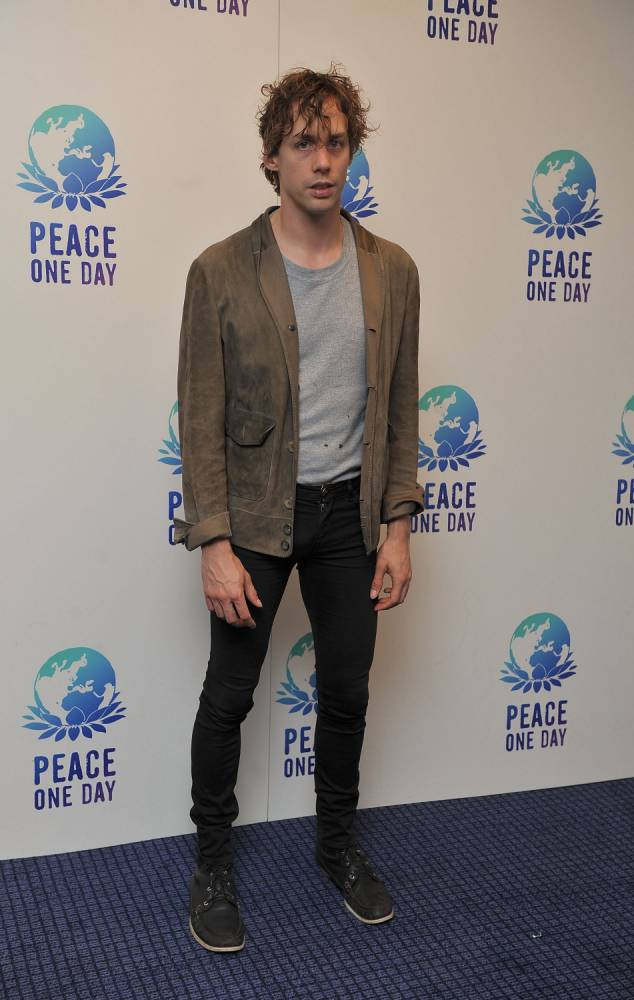 LONDON, ENGLAND - SEPTEMBER 21:  Johnny Borrel takes part in 'Peace One Day', a concert in association with Global Truce on Peace Day 2012 at O2 Arena on September 21, 2011 in London, England.  (Photo by Ferdaus Shamim/WireImage)