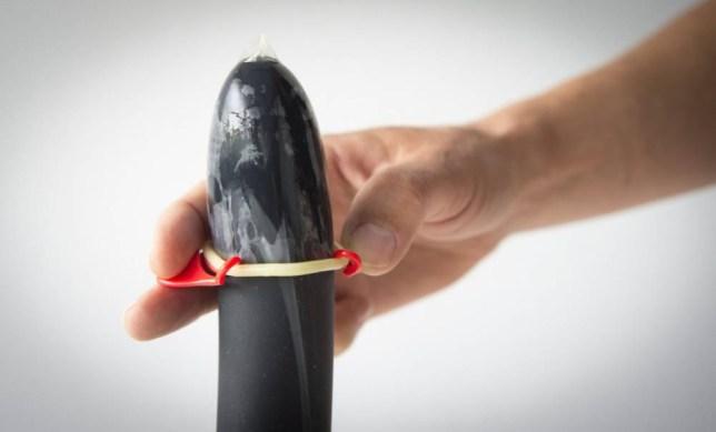 Wingman condoms give men a 'hand in the bedroom'