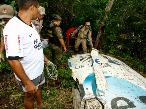 Catch of the day: Brazilian fisherman finds satellite launch debris in river