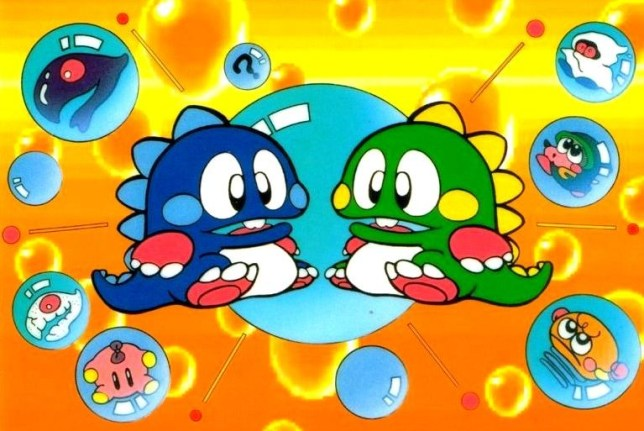 Bubble Bobble - pure perfection, and that's just the soundtrack