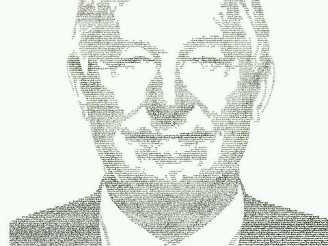 26 years of Manchester United history immortalised in handwritten Sir Alex Ferguson portrait