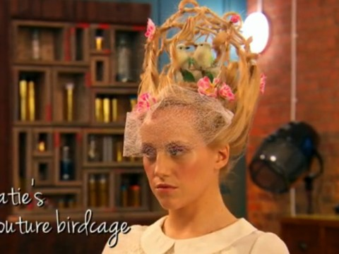 Couture birdcage anyone? The wackiest styles to emerge from BBC Three's Hair