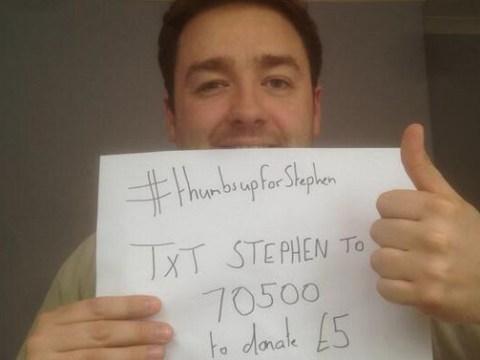 #ThumbsupforStephen: Jason Manford's £2million aim for Stephen Sutton fundraising appeal