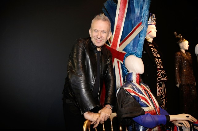 Jean-Paul poses in the Punk Cancan room (Picture: Matthew Lloyd/Getty Images)