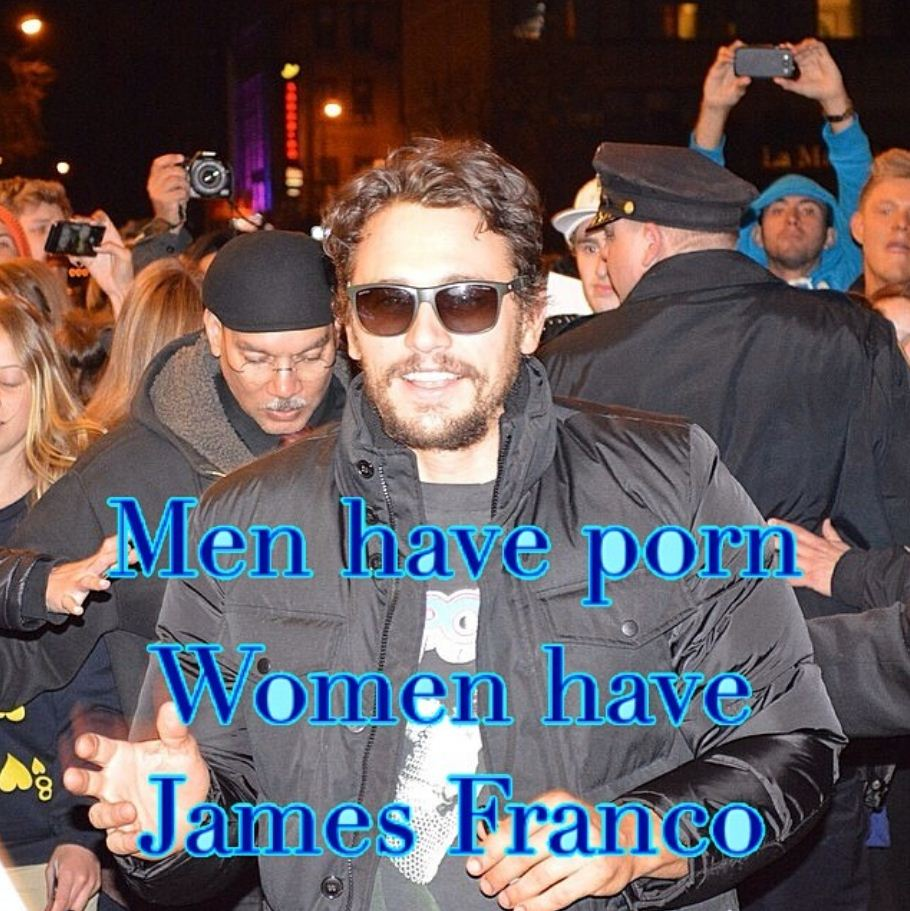 Now he's talking porn? James Franco seriously needs to stop using Instagram RIGHT NOW