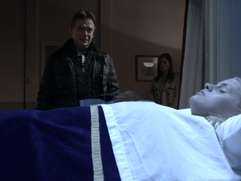 EastEnders' Hetti Bywater admits to morgue scene panic attack
