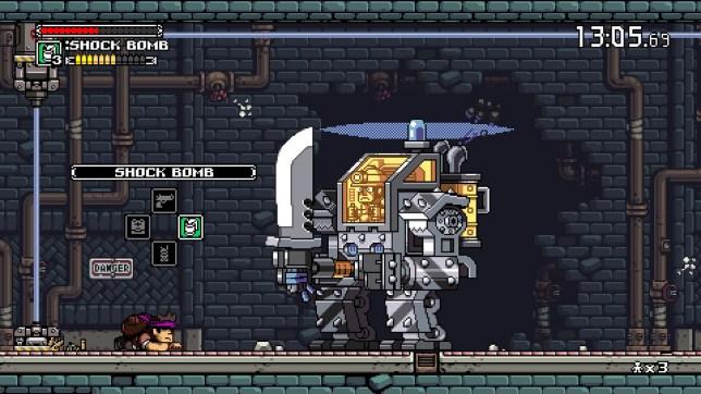 Mercenary Kings (PS4) - it's no good, he's seen you